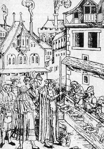Сексуальные пытки в средневиковье